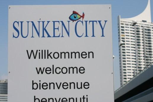 Wien - Sunken City auf der Donauinsel