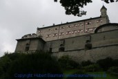 Burg-Hohenwerfen Außenansicht