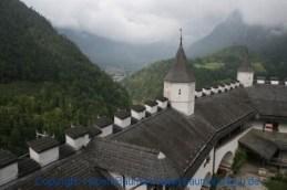 Burg Hohenwerfen Blick vom Wehrturm 001