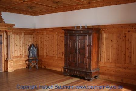 Burg Hohenwerfen - Fürstenzimmer