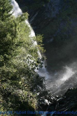 Großarl - auf dem Weg zur Kreealm - Wasserfall 005