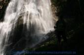 Großarl - auf dem Weg zur Kreealm - Wasserfall 013