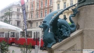 Wiedener Straße - Schutzengelbrunnen