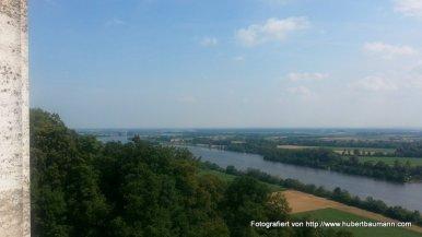 Blick von der Walhalla auf die Donau