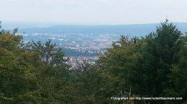 Blick vom Aussichtsturm Stengers auf Aschaffenburg