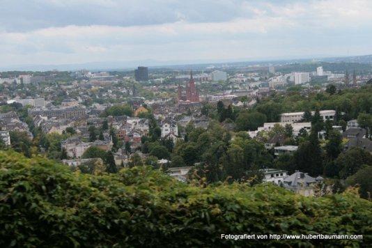 Wiesbaden / Blick vom Neroberg