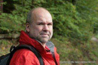 Hubert Baumann am Baerensee