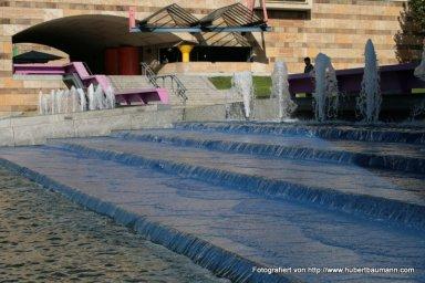 Stuttgart Haus der Geschichte Wasserspiele