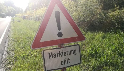 Markierung (f)ehlt