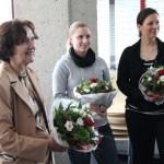 Frau Dr. Westram und die Studentinnen der RWTH Aachen