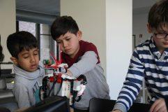Der fahrbare Lego Mindstorms-Roboter war besonders attraktiv