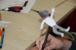 Figuren entwerfen und basteln