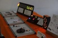 viel LED-Geblinke am Hacklace2-Stand