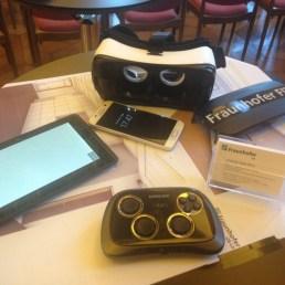 Samsung Gear VR und Tango-Tablet