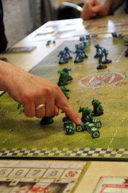 Fachsimpeln über Strategie und Spielertyp