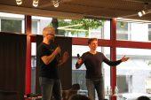 Gunnar Lott und Christian Schmidt