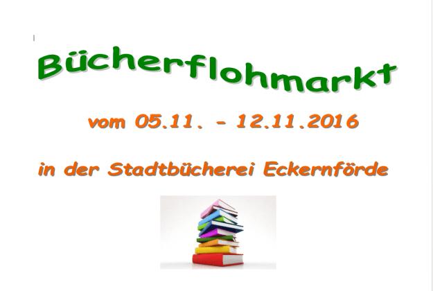 Bücherflohmarkt