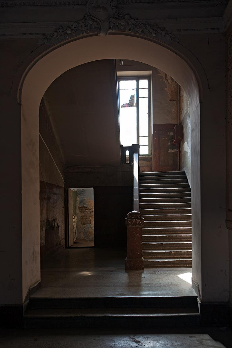 Eingangsbereich der Post in Tiflis