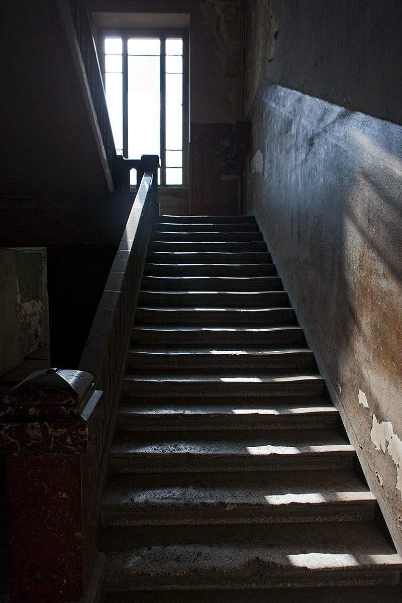Treppe der Post in Tiflis
