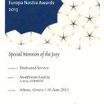 Urkunde Europa Nostra