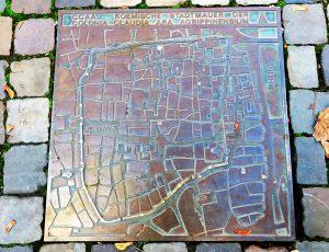 Altstadtplan (Bodenplatte)