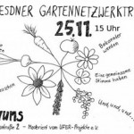 1. Dresdner Gartennetzwerktreffen