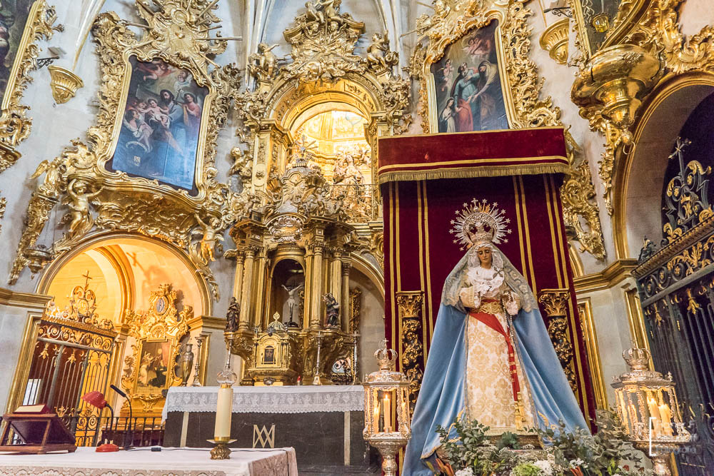 Alicante, Basilica of Santa Maria