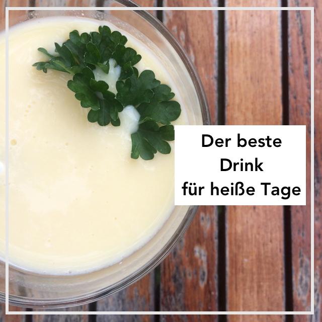 Buttermilch Sommerdrink