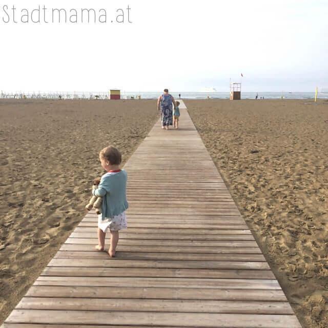 Strand Punta Sabione Familienurlaub