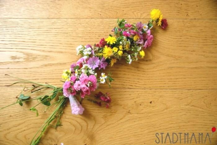 Blumenkranz selber machen Tutorial