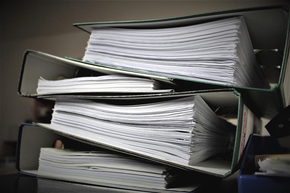 Dokumente ausmisten in vier Schritten