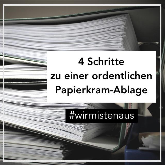 Dokumente ausmisten