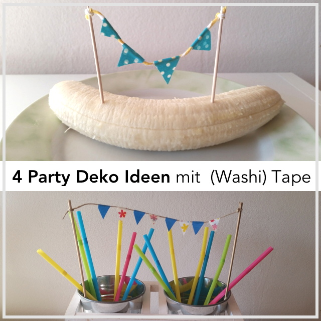 Washi Tape DIY Ideen