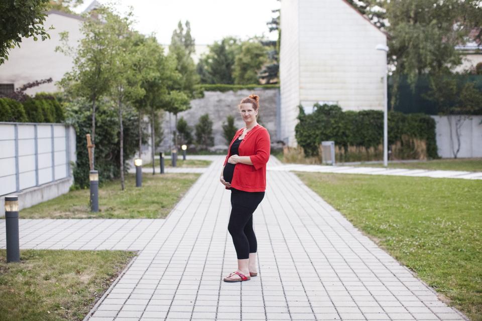 Babybauchshooting Stadtmama
