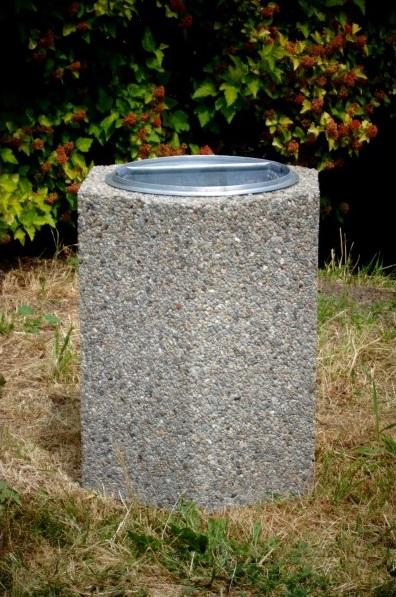 Abfallbehälter aus Beton KB-16