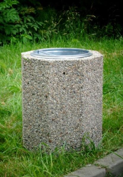 Abfallbehälter aus Beton KB-18