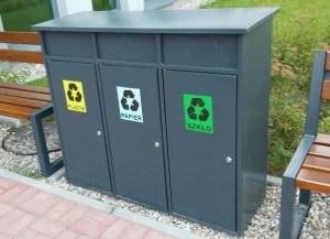 Abfallbehälter zur Mülltrennung KSO-02