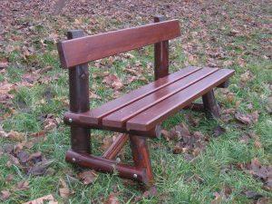 Sitzbank aus Holz L-94