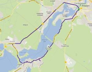 Von Berlin um den Templiner See nach Caputh