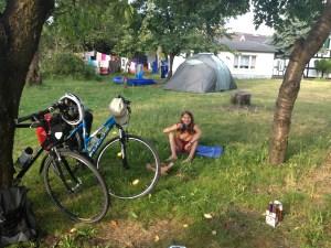 Der Campingplatz an der Jugendherberge am Köthener See Fotos: Link