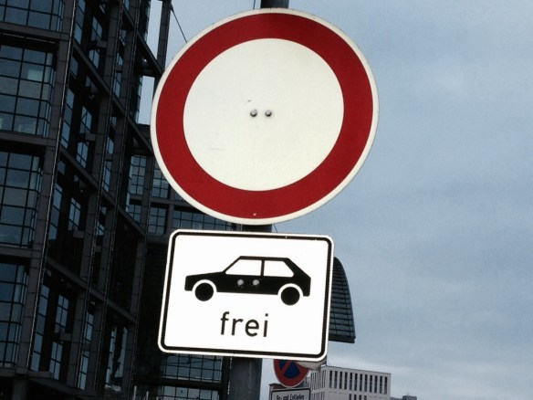 Was will uns dieses Verkehrszeichen sagen?