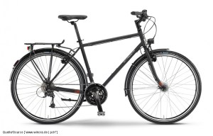 Trekkingbike mit Starrgabel Pressedienst Fahrrad