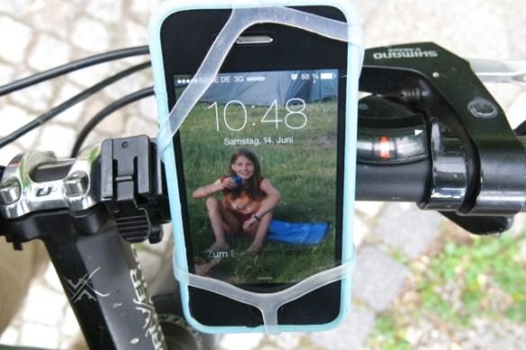 FINN, die Smartphone-Halterung von BikeCityGuide