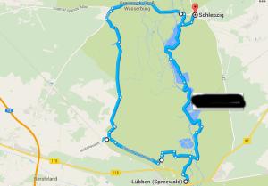 Fahrradtour Lübben-Schlepzig