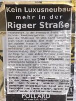 Keinen Luxusneubau mehr in der Rigaer Straße