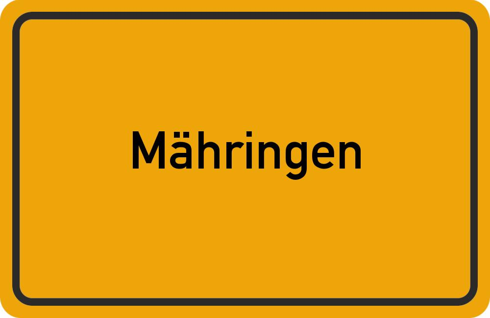 Informationen aus 72127 Mähringen (Kreisangehörige Gemeinde