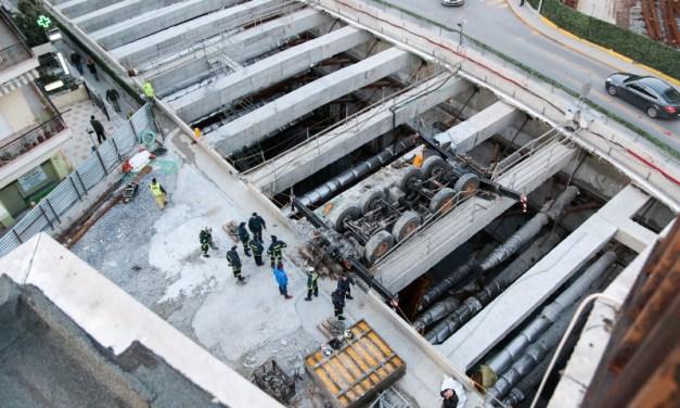 Εργατικό ατύχημα σε εργοτάξιο του Μετρό στην Θεσσαλονίκη – Νεκρός ο χειριστής του γερανού