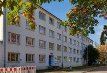 Für die betroffenen Polizisten und ihre Gewerkschaft ist die ehemalige Kaserne in Trotha der beste Standort der neuen Hundertschaft. Dort könnte man sofort einziehen. (Foto: Jan Möbius)