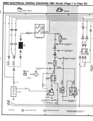 1991 MR2 BGB Online  Electrical  Electrical Wiring Diagrams