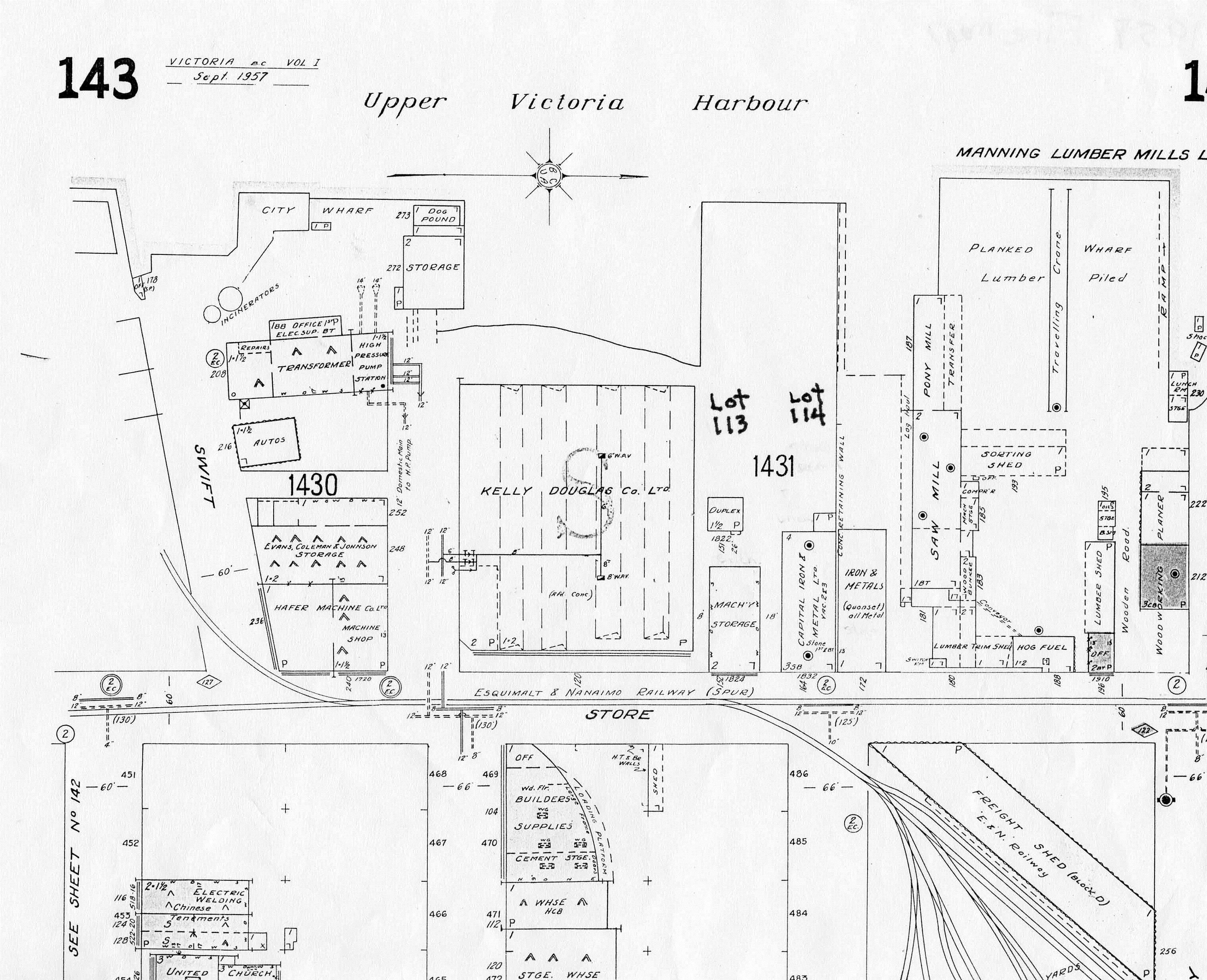 Figure 37 1957 fire map